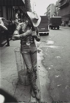 "Robert Frank,  ""Rodeo, New York City, 1955;"" Gelatin silver print"