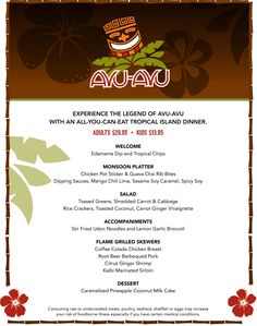 Avu-Avu Restaurant : Experience Quality All-You-Can-Eat Family-Style Tropical Feast at Affordable Prices and Giveaway #AvuAvuCrew