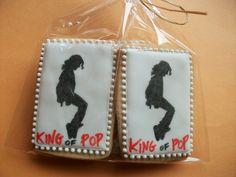 Michael Jackson cookies