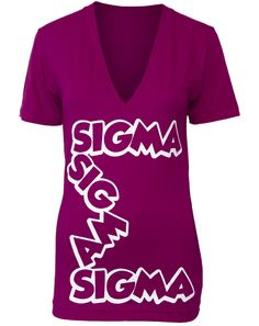 trisigma, letter, shirt