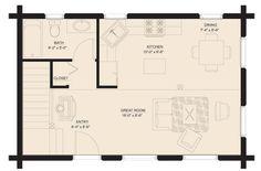 18 x 24 floor plan More