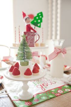 Amazing North Pole Elf on the Shelf Party!   See more party ideas at CatchMyParty.com!  #partyideas #christmas
