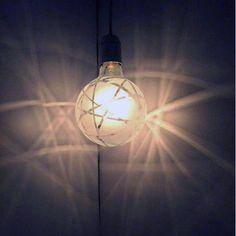 Crisscross Shadow Bulb  by Melissa Borell