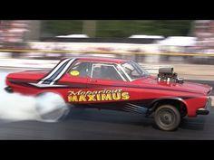 ▶ 2014 Meltdown Drags Bilina Bierman Grenko Chevy Mopar Gassers Byron Dragway Nostalgia Drag Racing - YouTube
