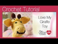 Love My Giraffe Toy Crochet Tutorial