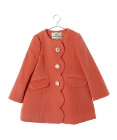 kids wear, sweet thing, vintag coat, kid vintag, ashira style, scallop, tocca bambini