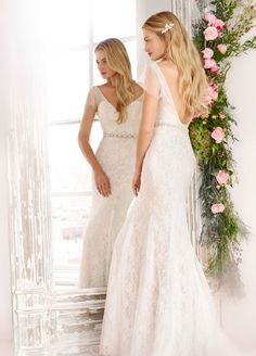 Bridal Gowns, Wedding Dresses by ti adora by Alvina Valenta- Style 7460