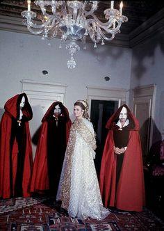 Grace Kelly in Dior    Venice Ball, Italy, September 1967