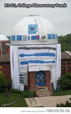 College Observatory Prank cheap Pranks at  http://www.anrdoezrs.net/click-5388345-10486006
