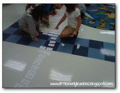 Ordering decimals lesson idea