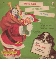 Christmas record - Santa Claus and the Caroleers