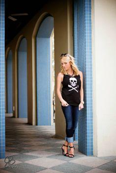 Lipstick, Heels & a Baby: Black Tank & Giveaway