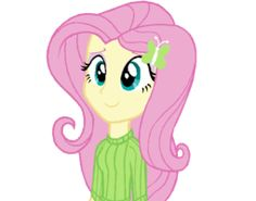 MY LITTLE PONY: Equestria Girls Fluttershy by DilEmmas4U