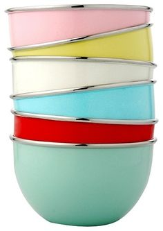 Playnation Mixing Bowls by John Lewis contemporary cookware and bakeware