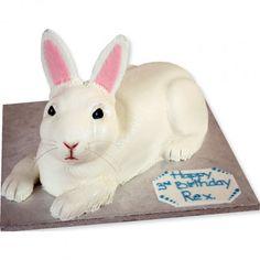 Rabbit Cake, es tan ridículo ke me encantaría uno en mi cumpleaños
