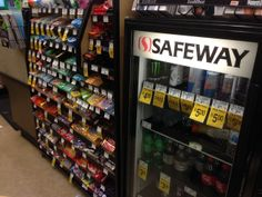 Safeway, there's a better way than this! Replace the sugar beverages and candy with seltzer, fruit, and nuts. (Safeway, Napa, CA, 3/14)