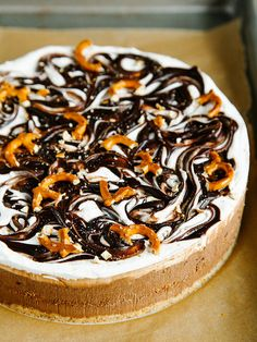 Salted chocolate pretzel ice cream cake by Ashlae | oh, ladycakes, via Flickr