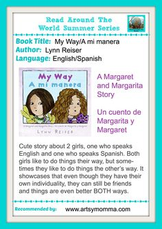 My Way - A mi Manera Spanglish books for kids