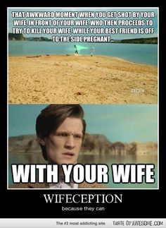 Doctor Who. Because they can.