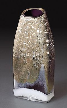 Uruqin: Randi Solin: Art Glass Vase - Artful Home