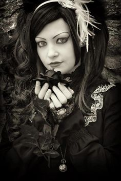 Sweet #Goth girl