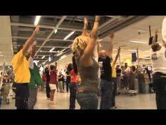 Flash mob IKEA RIMINI