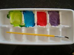 Yogurt Paint - Re-pinned by @PediaStaff – Please Visit http://ht.ly/63sNt for all our pediatric therapy pins