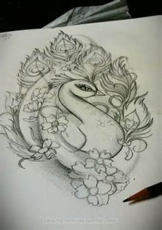 peacock tattoo - That would be stunning with the right colors!