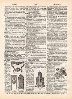 Vintage Clip Art- Dictionary Page 3