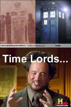 Ancient Aliens indeed....
