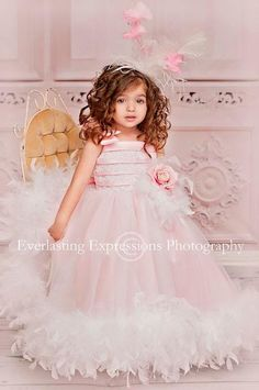 Soft And Whimsical Flower Girl Dress