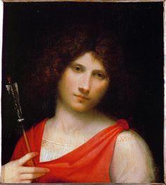Giorgio Barbarelli da Castelfranco (Giorgione), The Boy with the Arrow, c. 1505