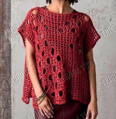 quite simple to make but so stylish! - with full pattern! ✿⊱╮Teresa Restegui http://www.pinterest.com/teretegui/✿⊱╮