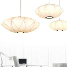 L2-1215 White Shade Pendant Light Fixtures from $94.95