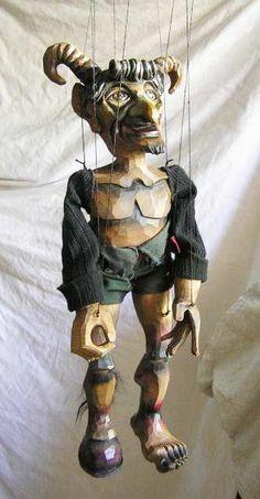 Devil ,  marionette puppet