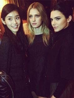 Proof that Kendall Jenner is having the best year ever: Partying in Paris with Min Xi and Sigrid Agren