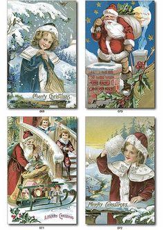 free christmas vintage printable | Vintage~ | Free Christmas Printables