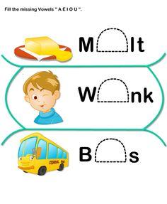 Short-Vowel Worksheets