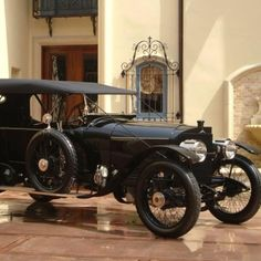 1913 Mercedes  Model 37/95, Double Phaeton-Torpedo at The Nethercutt Museum Sylmar, CA #Kids #Events