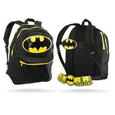 ThinkGeek :: Batman Wings and Cowl Backpack