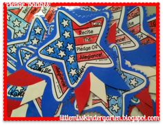 Little Miss Kindergarten - Lessons from the Little Red Schoolhouse!: Pledge Badge Freebie!