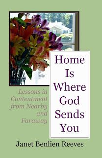 HOME IS WHERE GOD SENDS YOU: Lessons in Contentment from Nearby and Faraway is a book of devotions for women who are moving. These devotions are divided into 13 chapters which correspond to all the different aspects of moving: Written by an Army chaplain spouse. #PCS #Move #Military #Devotional www.operationwearehere.com/militarydevotionals.html