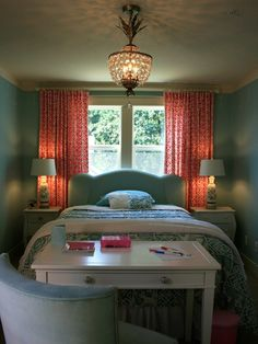 Bed In Front Of Window Design, Pictures, Remodel, Decor and Ideas - page 4