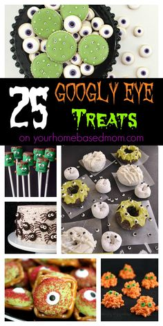 25 Googly Eye Treats on Your Homebased Mom