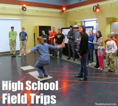 Some of the ideas are a little interesting...:) But the idea is an inspiring one! High School Field Trips | the Daisyhead - #Homeschool