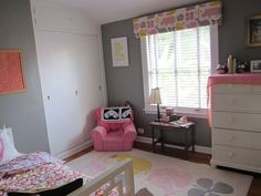 completely darling girly toddler room