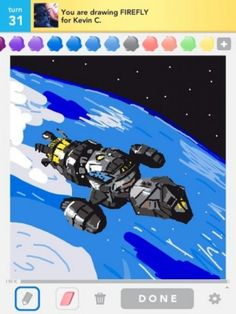 Best Draw Something Art Ever... gotta check out some of the others on this blog, too