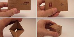 These 11 Genius Business Cards Put Everyone Else's To Shame #biz #design