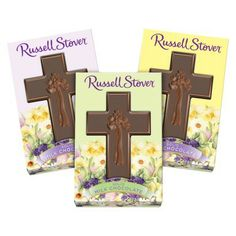 Russell Stover Solid Milk Chocolate Cross 1.5 oz #TheHappys