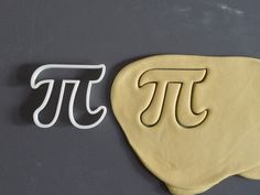 Father's Day gifts for geeky dads: Pi cookie cutters on Etsy